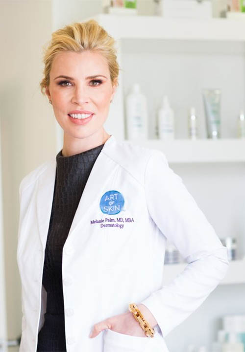 Dr. Melanie Palm, Board-Certified Medical Dermatologist & Cosmetic Surgeon. San Diego Dermatologist. Medical and cosmetic skin care. Learn more.