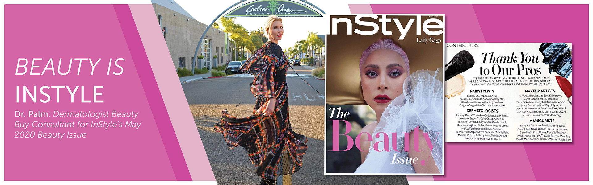 Art Of Skin MD San Diego In Style May 2020 beauty issue with Lady Gaga